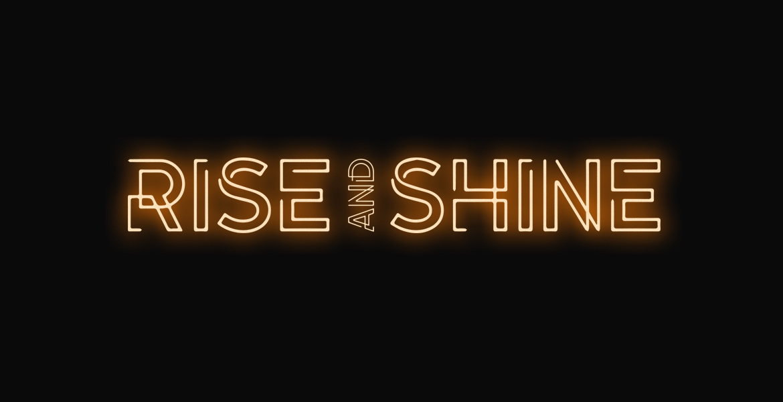 Rise and Shine band album logo