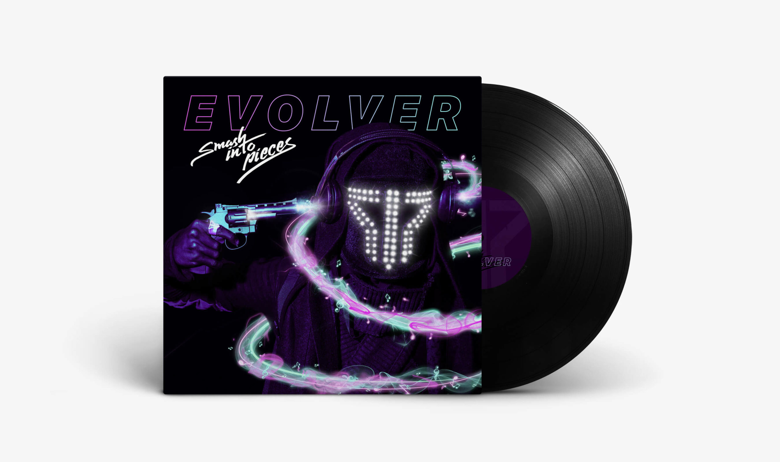 Smash Into Pieces - Evolver Vinyl Artwork