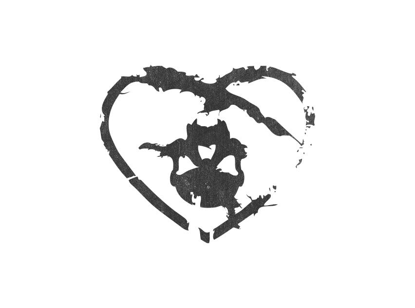 skull-heart-symbol-eekvisualart