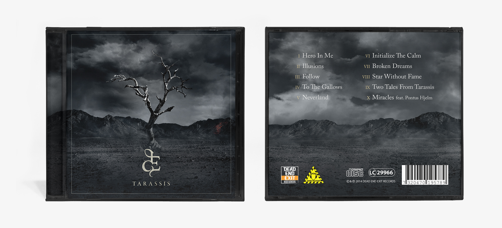 Demotional Front and Back Cover